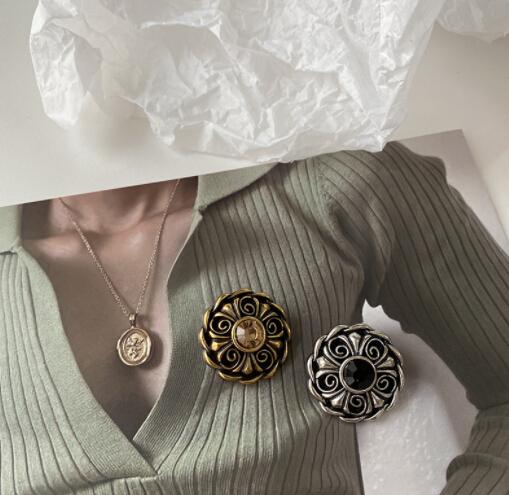 雑貨 DIY素材 手作り素材 ハンドメイド ボタン コードボタン ヴィンテージ