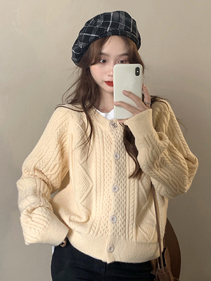 セーター アウターウェア 女性服 春秋 松 アウトドア 新しいデザイン 日系 アンティー