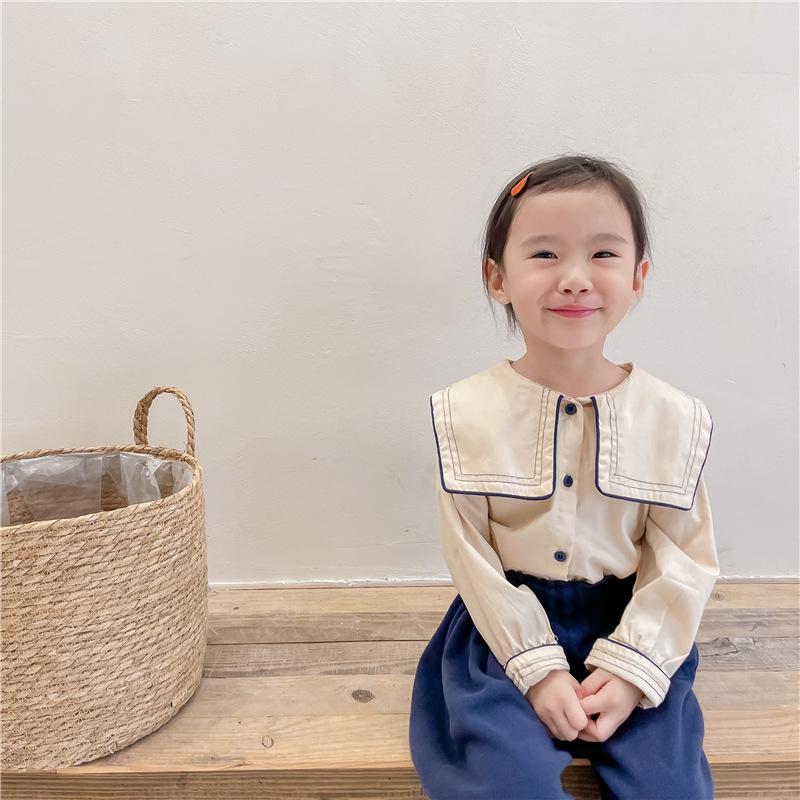 子供服 シャツ キッズ 子ども 秋冬 襟付き かわいい カジュアル トレンド 人気