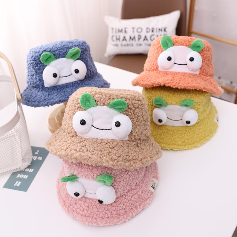 帽子  キャップ  ハット  キッズ  子ども  秋冬  もこもこ  暖か  かわいい  トレンド  人気