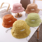 帽子  キャップ  ハット  キッズ  子ども  秋冬  もこもこ  暖か  英字  かわいい  人気