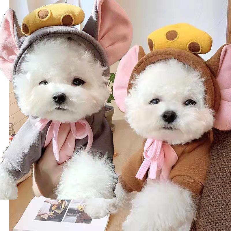 秋冬新作 猫服 可愛い ファッション 小中型犬服 犬猫洋服 ペット用品 ドッグウェア 猫雑貨 犬服 パーカー