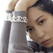 【Nothing And Others/ナッシングアンドアザーズ】Ellipse Motif Bracelet