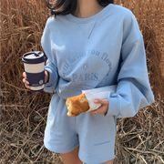 【Women】韓国風レディース服 レディース ins風 長袖 セットアップ