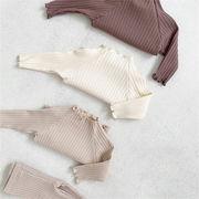 2021 GOSUN新作 ● ファッション  ボトミングシャツ  可愛い   ニット ★73-100cm
