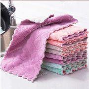 ◆雑巾 キッチンクロス ハンドタオル 速乾 厚手 吸水・油汚れに強い!