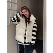コットンベスト 女 設計感 秋冬 新しいデザイン ファッション ベスト ベスト パンコー